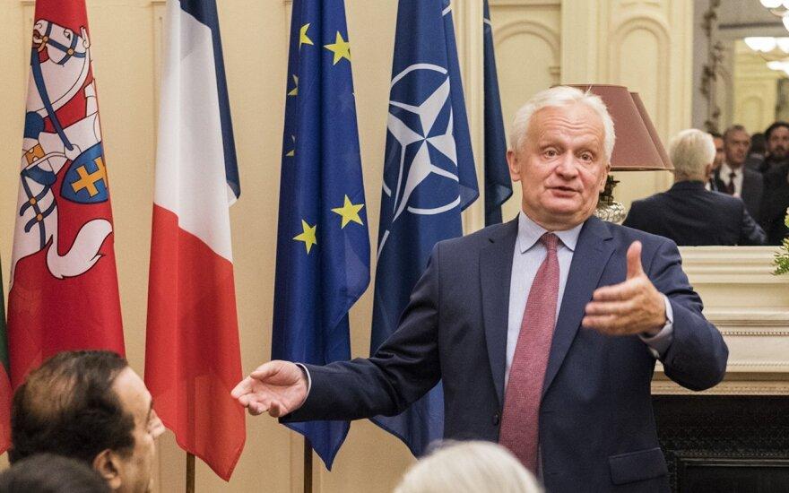 Diplomatas Dalius Čekuolis paskirtas užsienio reikalų viceministru