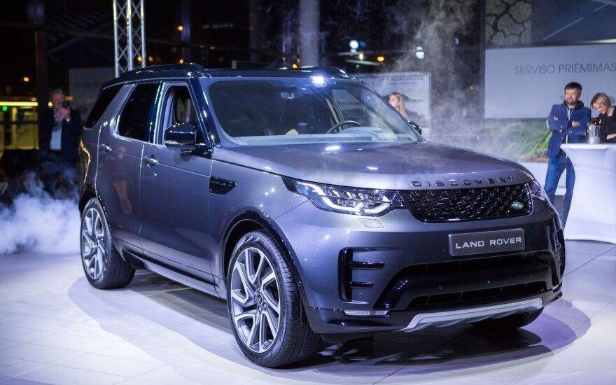 """Vilniuje pristatytas naujos kartos """"Land Rover Discovery"""""""