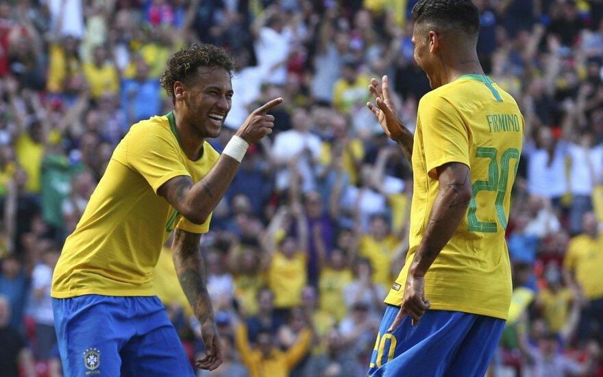 Draugiškos rungtynės: Brazilija - Kroatija