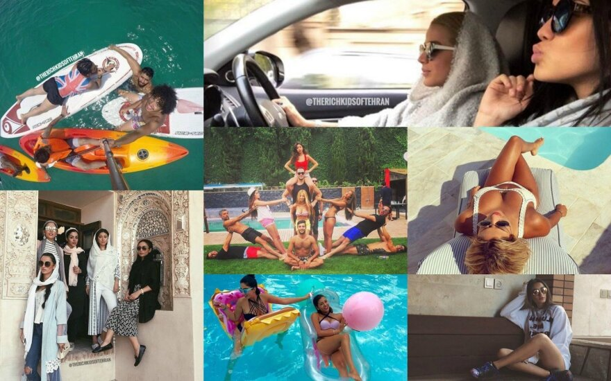 "Paskyros ""Rich Kids Of Tehran"" nuotraukos"