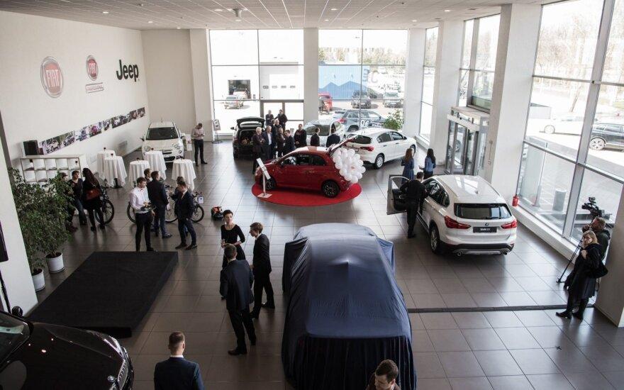 "Marijampolėje atidarytas BMW, ""Fiat"" ir ""Jeep"" salonas"