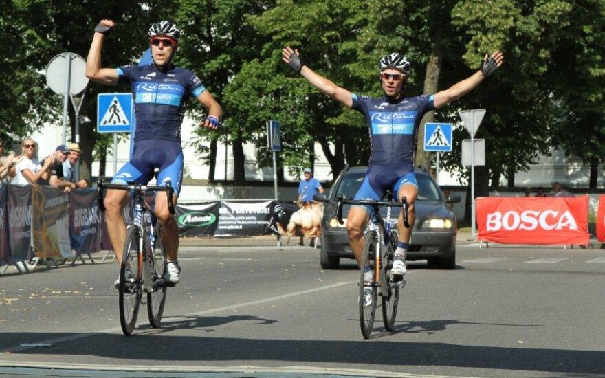 Armands Becis (kairėje) ir Andris Smirnovs