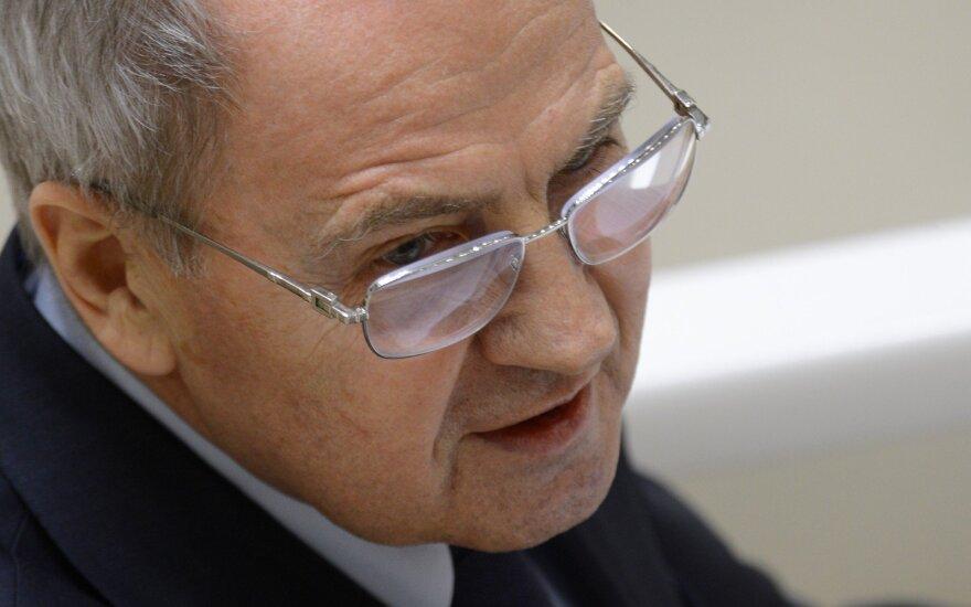 Russian Constitutional Court chairman Valery Zorkin