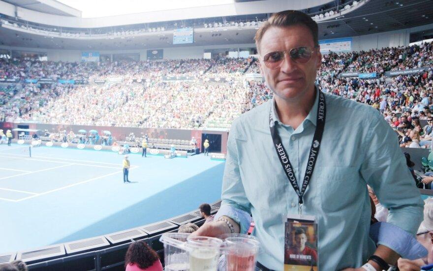 Žilvinas Grigaitis teniso turnyre