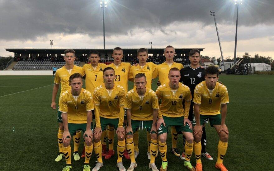 Lietuvos jaunių (iki 17 metų) futbolo rinktinė
