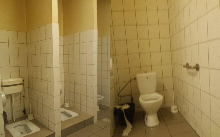 Negalėjo patikėti pamatytu vaizdu viešajame tualete