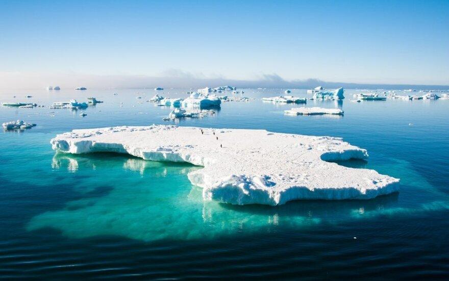 Antarktidos paslapčiai atėjo galas