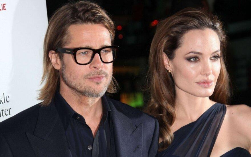 Angelna Jolie ir Bradas Pittas