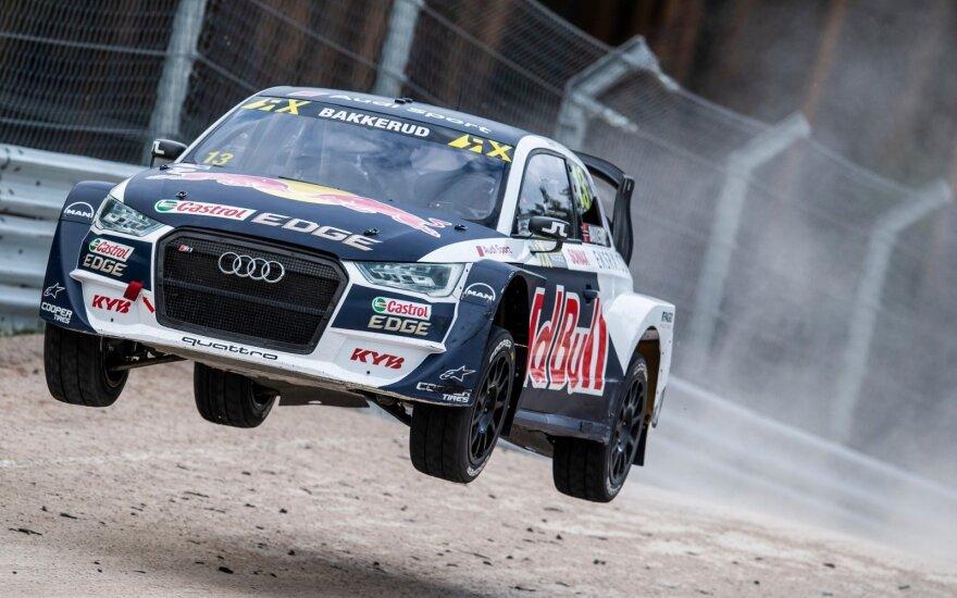 """World RX"" etapas Rygoje. EKS Audi Sport nuotr."