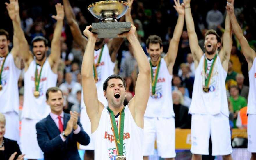 Ispanijos krepšininkai