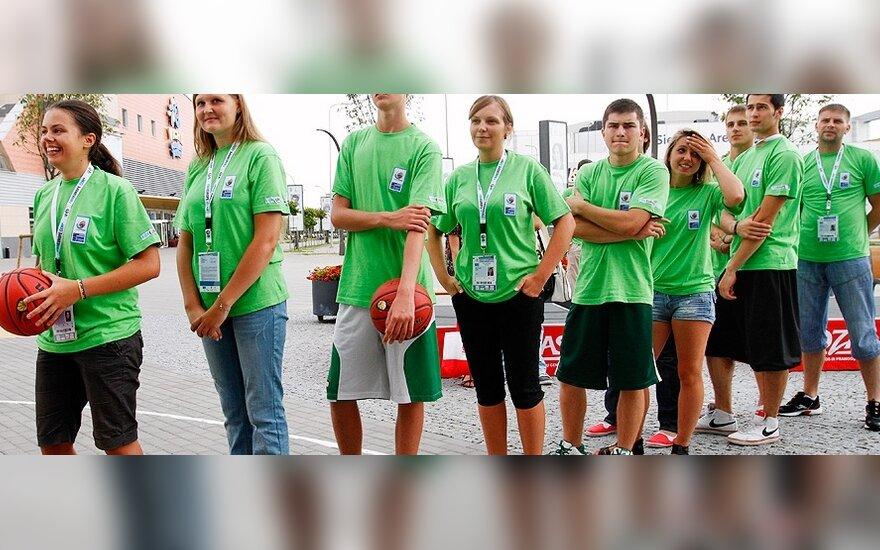 Krepšinio čempionato savanoriai