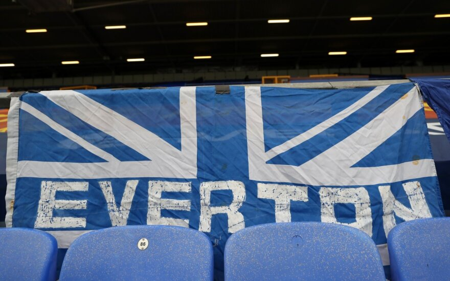 """Everton"" klubo vėliava"