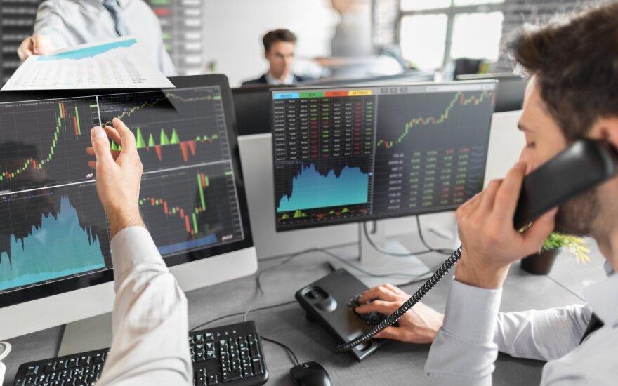 """""""Biržos laikmatis"""": skerdykla akcijų biržose – indeksų nuosmukiai viršijo 3 procentus"""