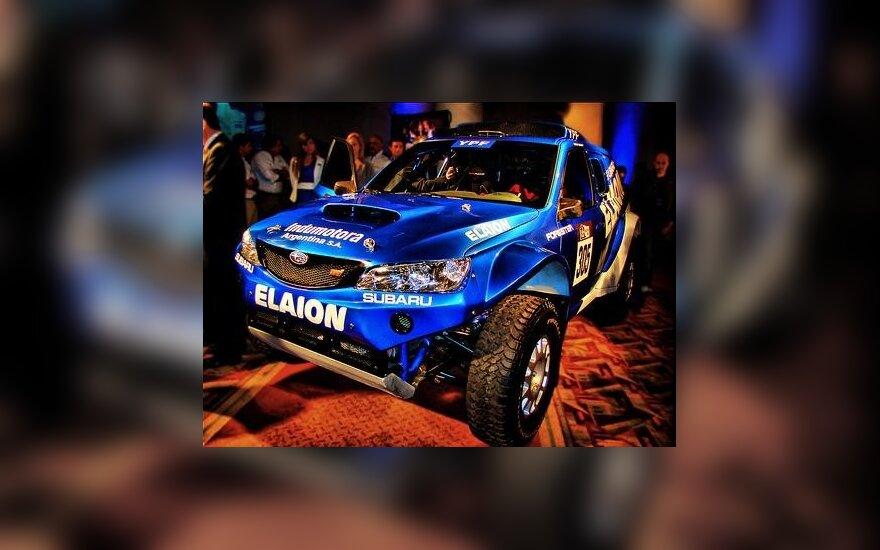Subaru Forester-Elaion. Flickr.com nuotr.