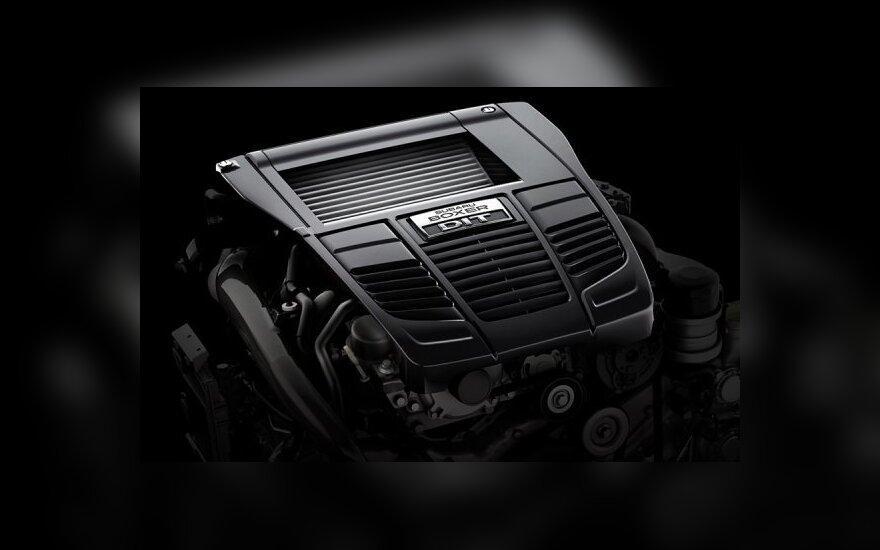 """Subaru"" gamintojo ""Boxer DIT"" variklis"