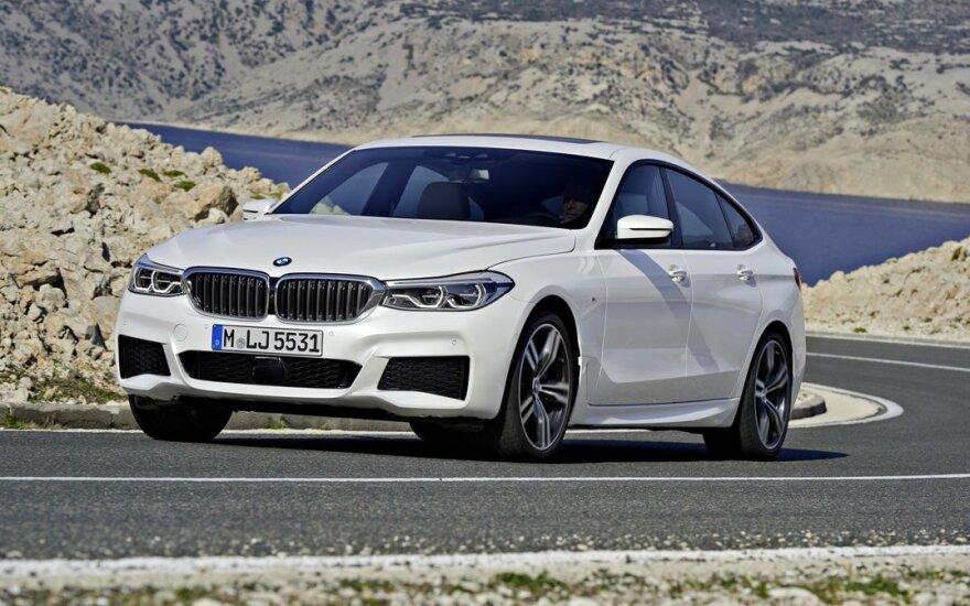 """Naujas """"BMW 6 Grand Turismo"""""""