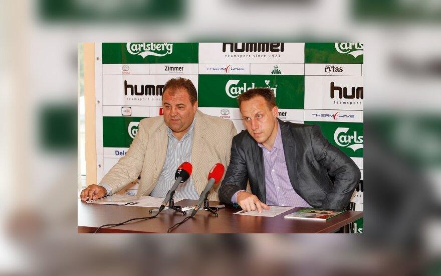Robertas Tautkus ir Raimondas Žutautas