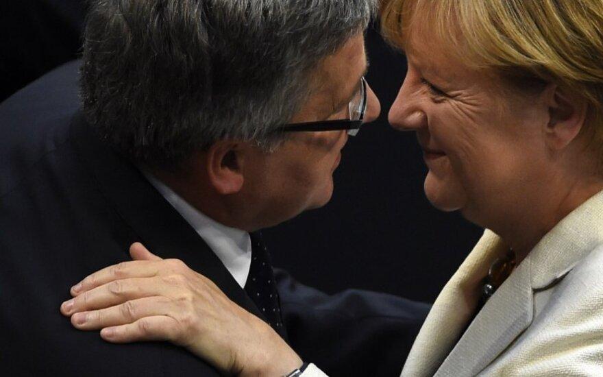 Angela Merkel, Bronislawas Komorowskis