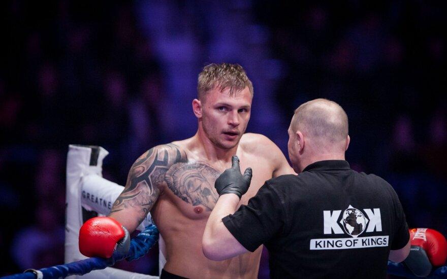 Kovotojas S. Maslobojevas pralaimėjo kovą dėl WKN Europos čempiono diržo