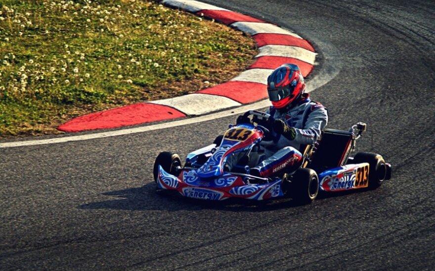 Lietuviai Europos kartingo čempionate Italijoje