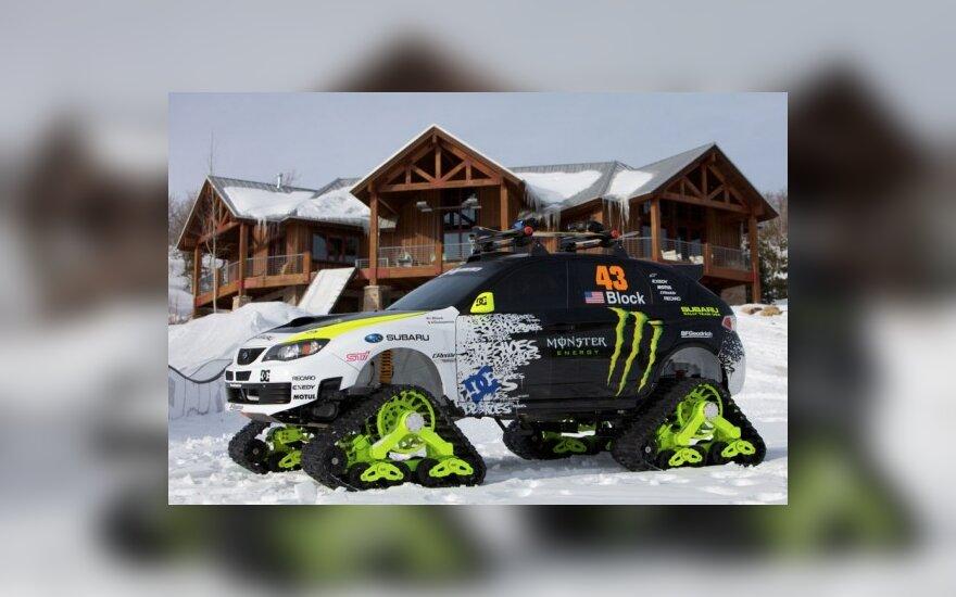 """Trax STI"" sniegomobilis"