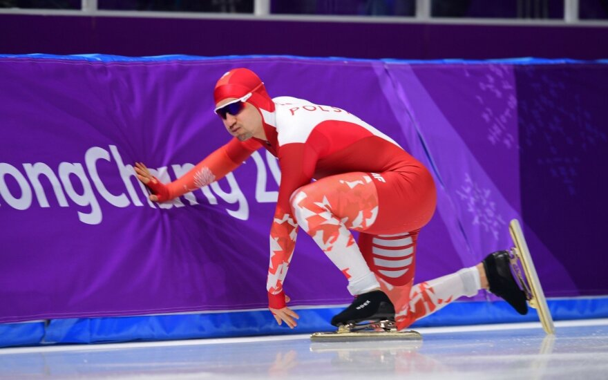 Lenkijos olimpietis Artur Logan