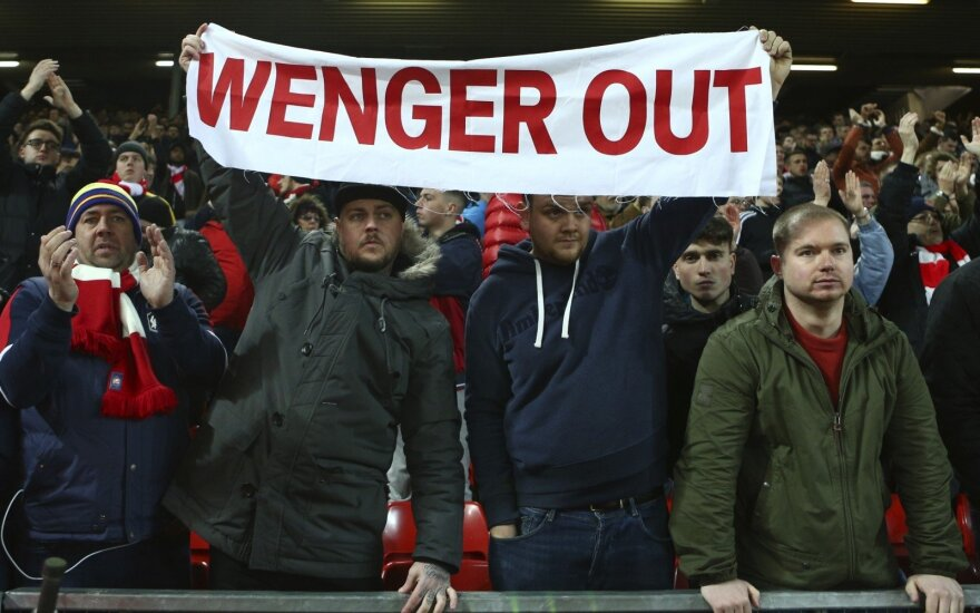 Arseno Wengero kritikai