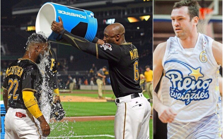 Starlingas Marte (viduryje) šiemet papildė beisbolo, Vilmantas Dilys (dešinėje) - krepšinio dopingo bylų statistiką