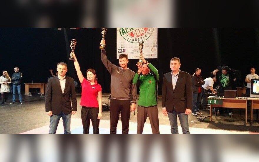 Šeimininkai pateisino viltis atvirajame Lietuvos taekvondo čempionate
