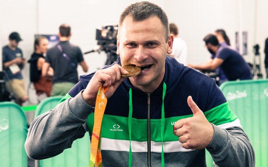 Mindaugas Bilius at the Rio de Janeiro Paralympic Games (R. Navickas/RGB pictures nuotr.)
