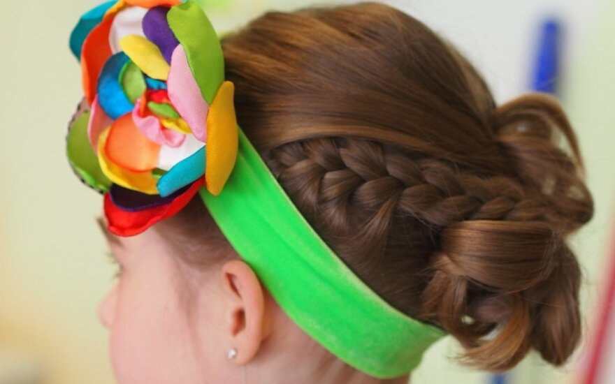 Penkios velykinių šukuosenų idėjos mažosioms puošeivoms