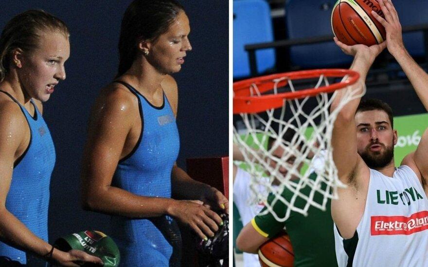 Antra Rio 2016 diena: startuoja ir R. Meilutytė, ir Lietuvos krepšinio rinktinė
