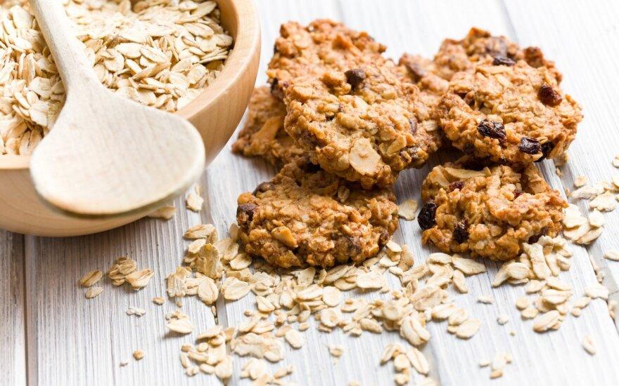 Sausainėliai be glitimo