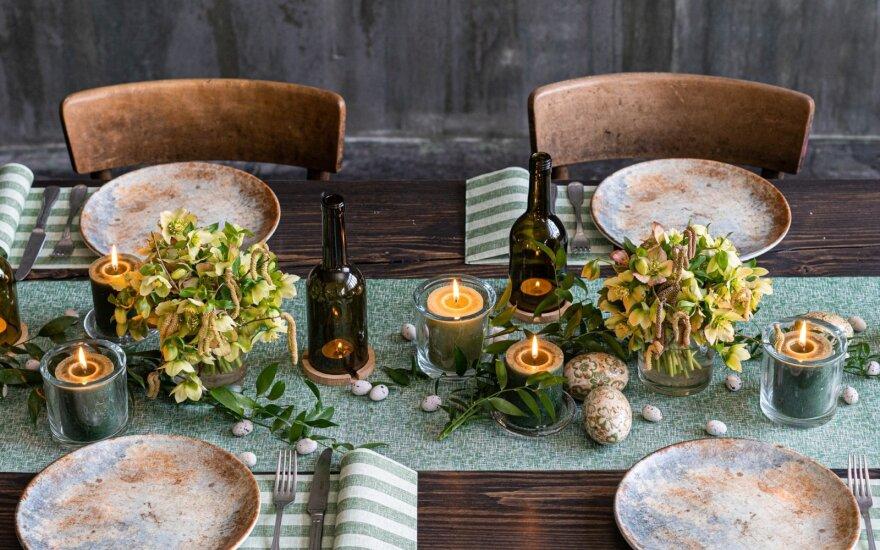 Papuoštas stalas