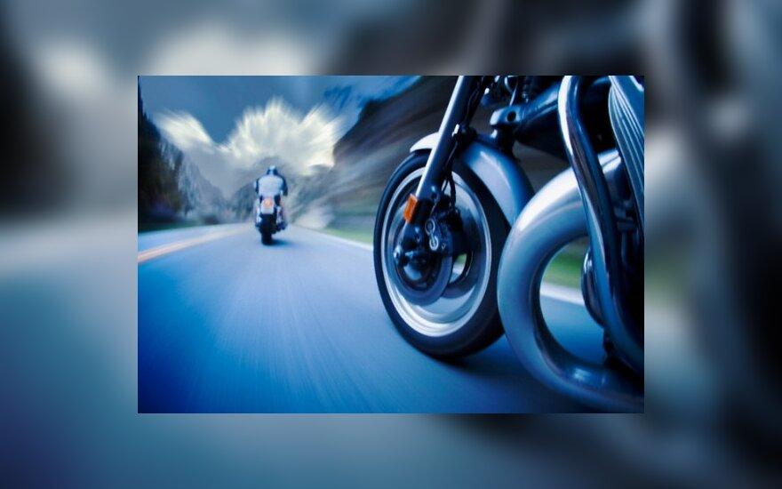 Girtas švedas Suomijoje motociklu greitį viršijo 133 km/val.