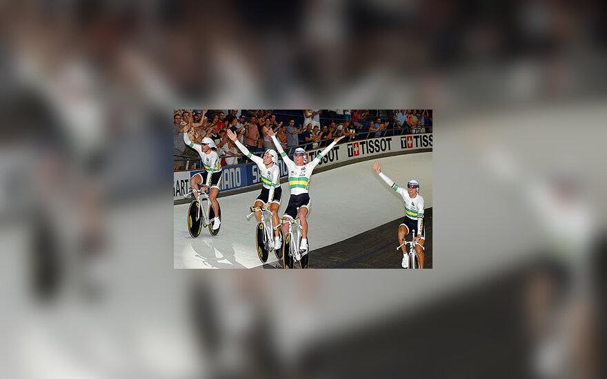 Australijos dviračių treko rinktinė
