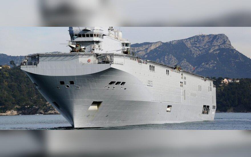 "NATO vadovas nenori primesti Prancūzijai sprendimo dėl ""Mistral"""