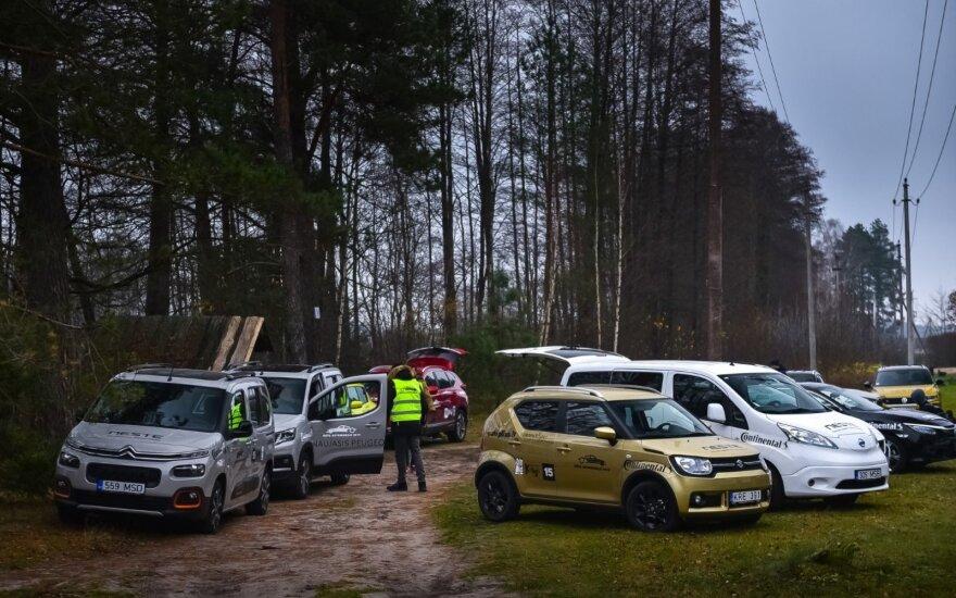 """Stabdžių efektyvumo bandymas """"Lietuvos metų automobilio 2019"""" konkurse"""