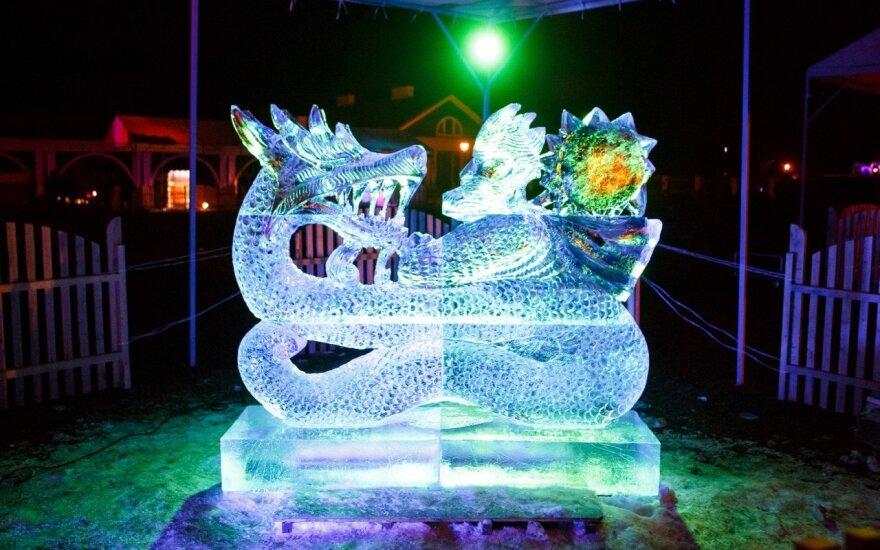 "Festivalis ""Ledo karalystė"" Pakruojyje"
