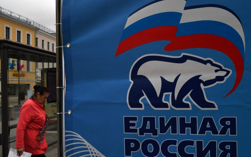 Kremliaus partijos kandidatas pralaimėjo antrąjį gubernatoriaus rinkimų turą Chabarovske