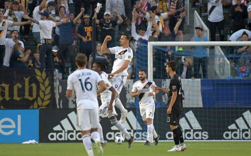Ibrahimovičius pasveikino Švediją – pelnė gražų įvartį MLS čempionate