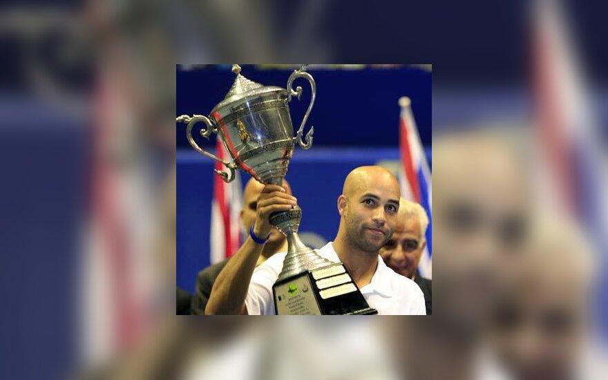 James Blake turnyro Tailande nugalėtojas