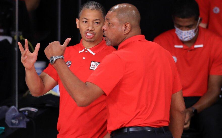 """Fiasko patyrę """"Clippers"""" naujuoju treneriu paskyrė NBA čempioną"""