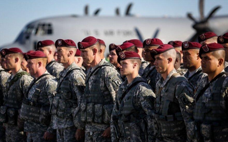 JAV dislokuos Norvegijoje šimtus karių
