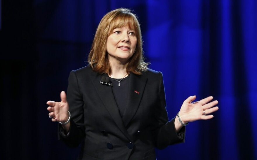 General Motors vadovė Mary Barra