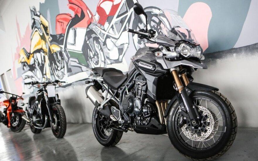 Motociklų parduotuvė