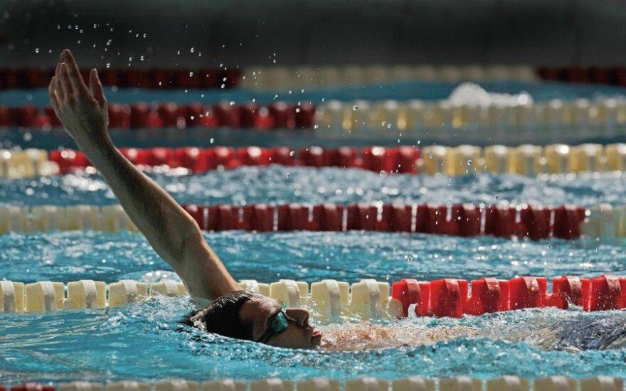 Šiuolaikinės penkiakovės varžybų plaukimo rungtis