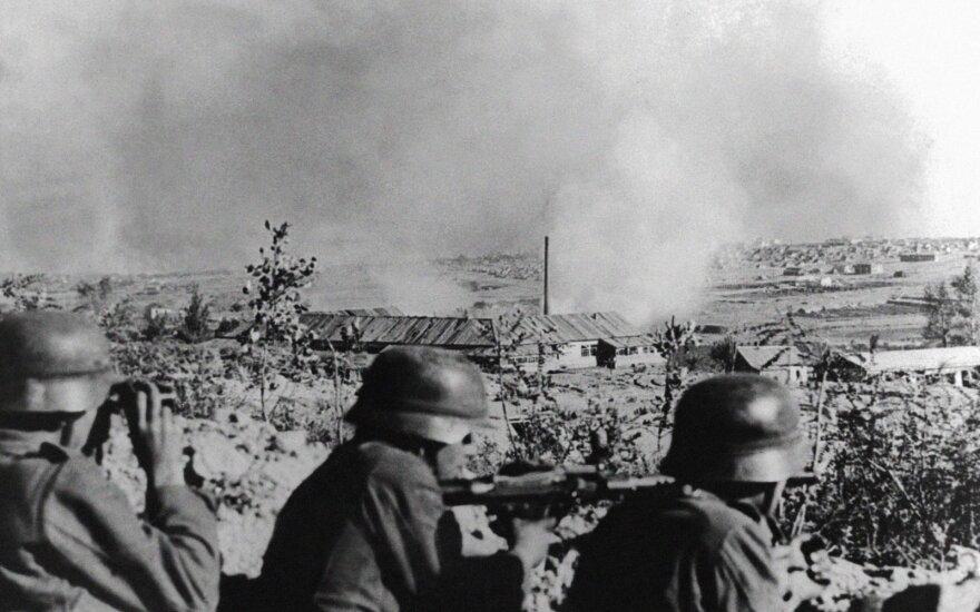 Vokiečių kariai Staliningrade