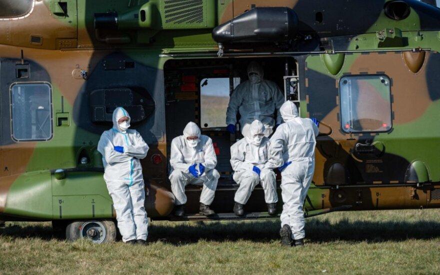 Vokietijoje užsikrėtusiųjų koronavirusu skaičius viršijo 137 tūkstančius