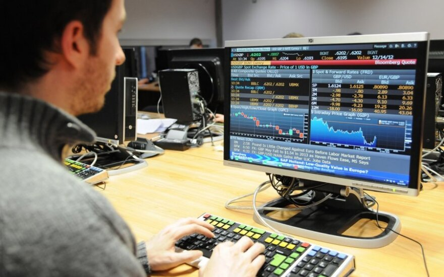 Bloomberg terminal. KTU photo